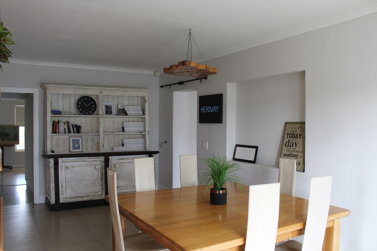 The dining room in Headway House where residents enjoy their meals